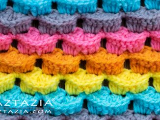Learn How to Crochet a 3D Crochet Stitch