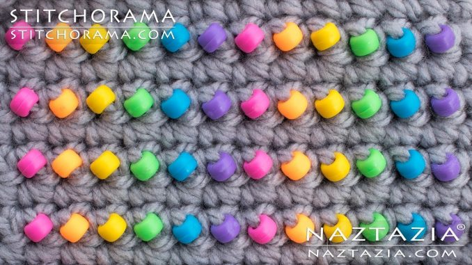Crochet with Beads and How to Add Beads with Crocheting from Stitchorama Collection