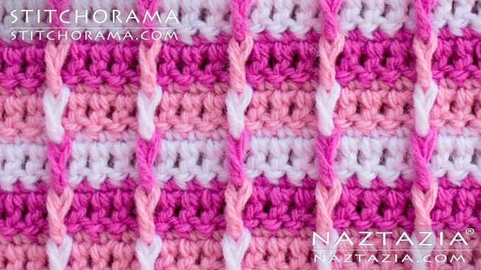Crochet Basic Post Stitch from Stitchorama Collection