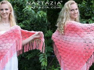 Crochet Beachy Keen Shawl and It is Peachy Keen Too