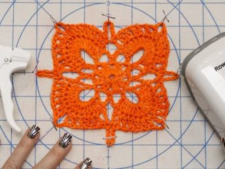 How to Block Knit and Crochet Items
