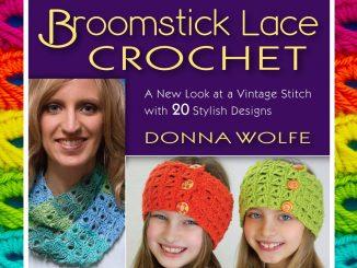 Broomstick Lace Crochet Book by Donna Wolfe from Naztazia 7f3ffa89c47e