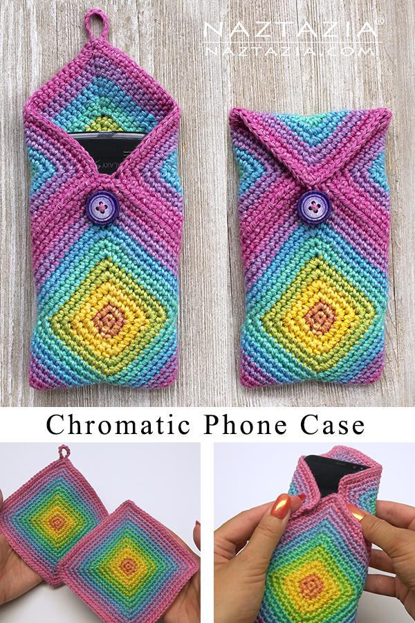 Чехол для телефона Crochet Chromatic