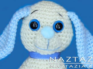Crochet Amigurumi Dog Toy Puppy