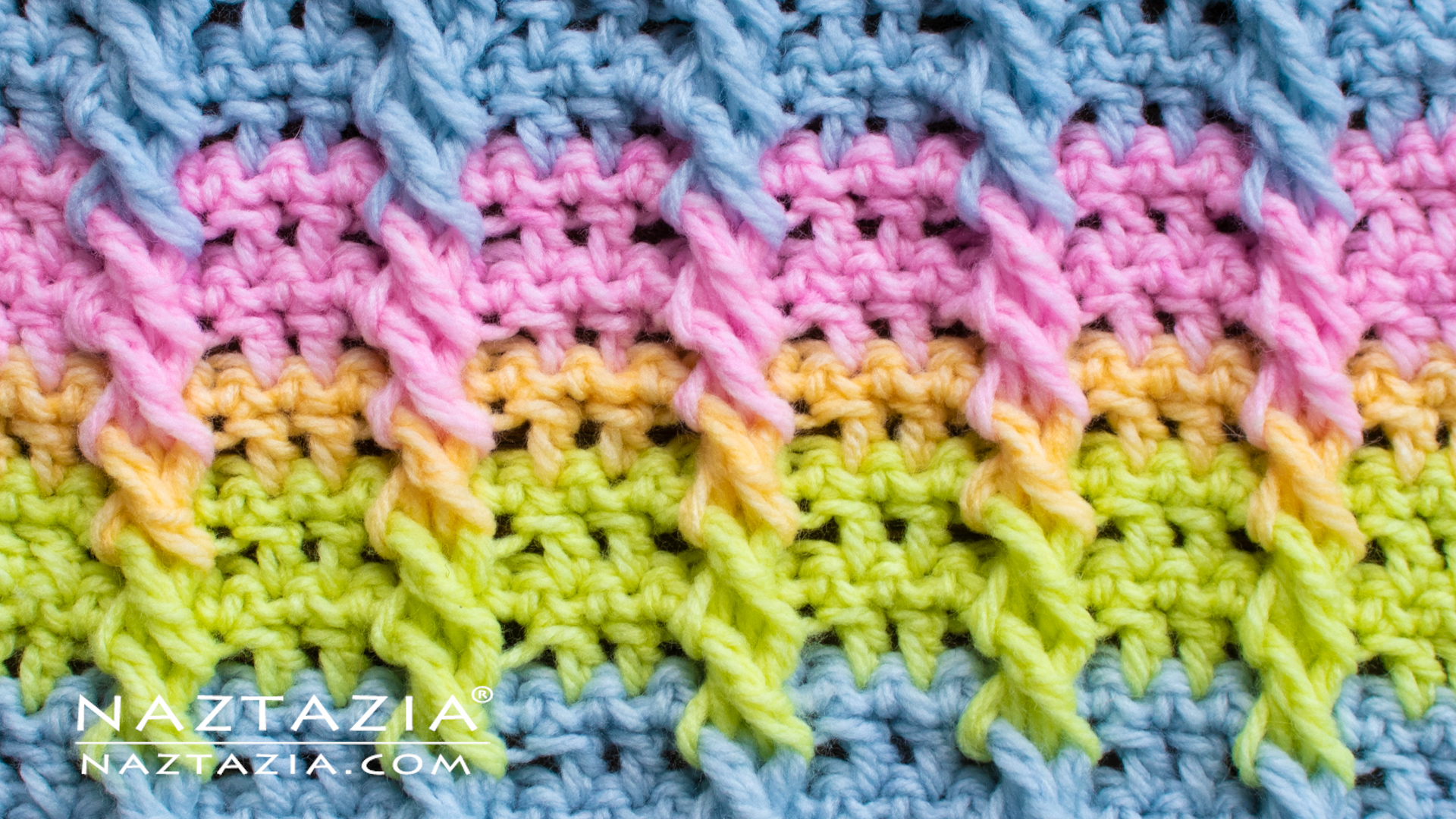 How To Crochet Cable Stitch And Crochet Braids Naztazia
