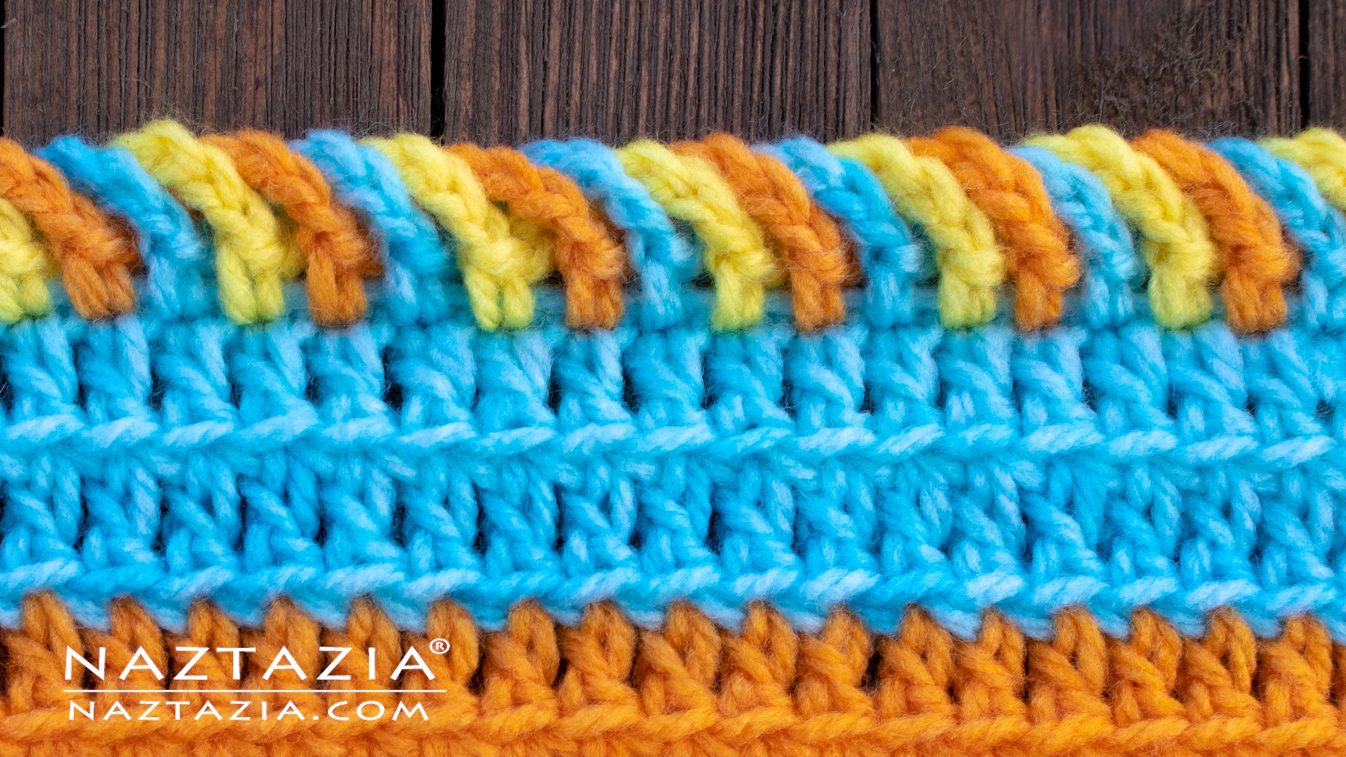 How To Crochet The Chain Loop Border Edging Naztazia