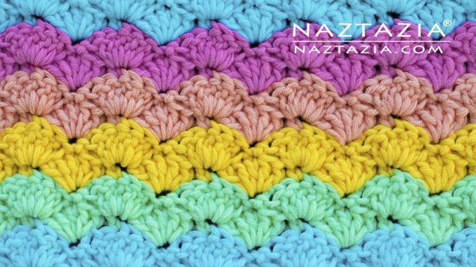 How to Crochet an Easy Shell Stitch - Naztazia ®