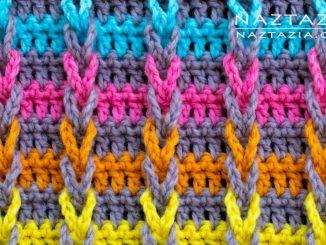 Crochet Jacob's Ladder (Looks Like Braids) Chain Loop Stitch Pattern