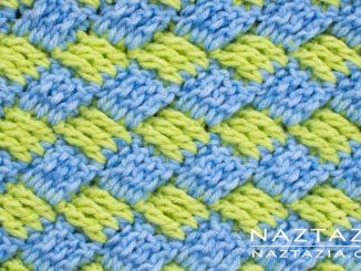 Diagonal Basket Weave Stitch from Stitchorama Collection