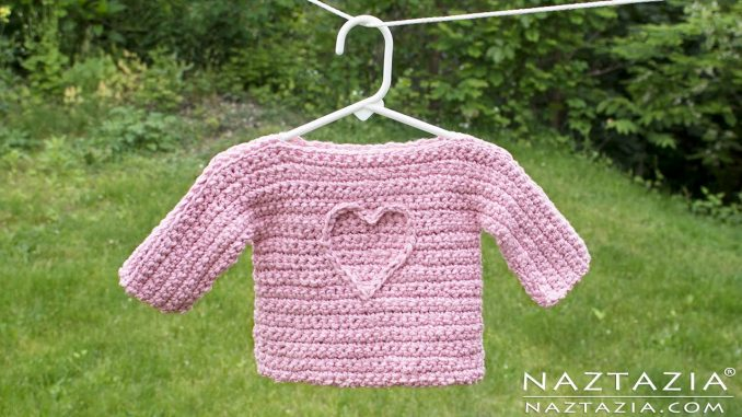Easy Baby Sweater Naztazia