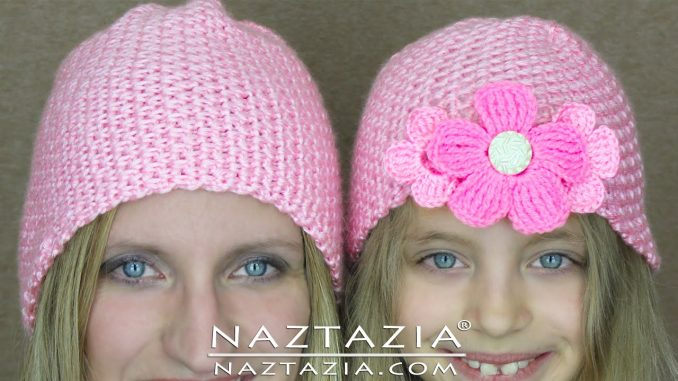 Easy Crochet Hat for Any Age or Head Size