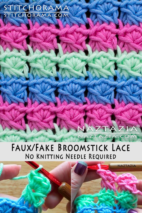 Fake Broomstick Lace Naztazia