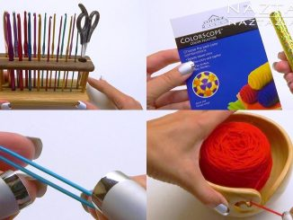 My Favorite Crochet and Knitting Tools by Donna Wolfe from Naztazia