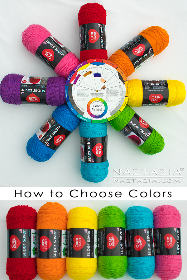 How to Choose Colors for Knitting or Crochet Patterns