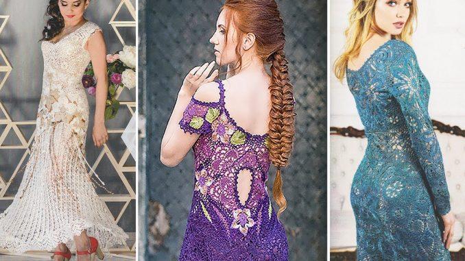Showcase on JT House an Irish Crochet Lace Designer from Ukraine