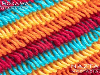 Crochet Loop Stitch and Loops for Texture from Stitchorama Collection