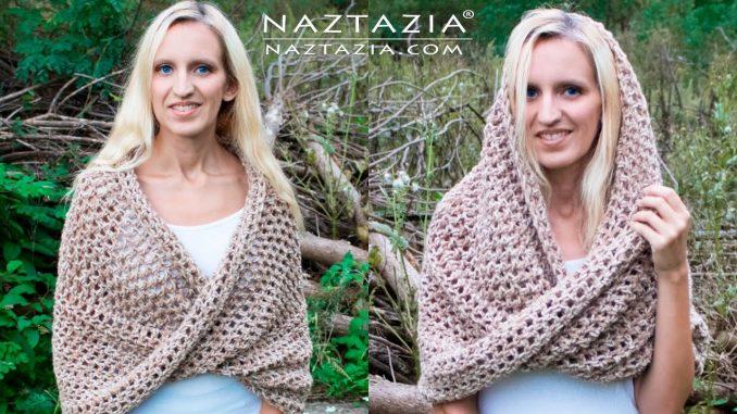 Crochet Mobius Shawl with a Twist
