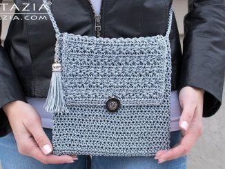 Crochet My Mini Bag Using the Star Stitch