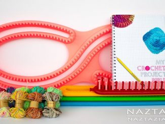 New Products for Knitting and Crochet Review by Donna Wolfe from Naztazia