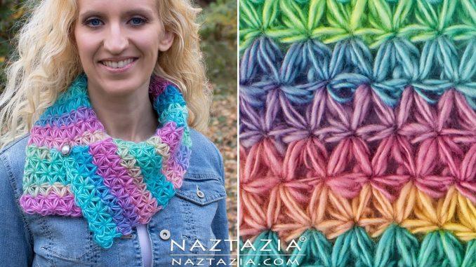 Crochet Oh My Stars Scarf