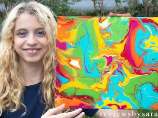 Paint Pouring on Canvas and Painting by Reviews by Sarah