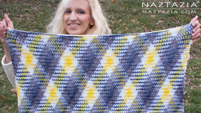 Crochet Planned Color Pooling Blanket and Scarf
