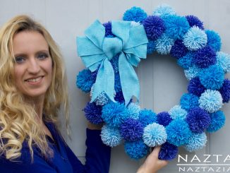 Easy Pom Pom Wreath for Beginners with Clover Pompom Maker
