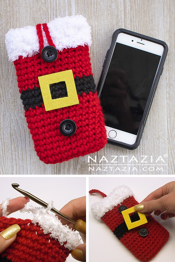Santa Cell Phone Case for Christmas Holiday Season
