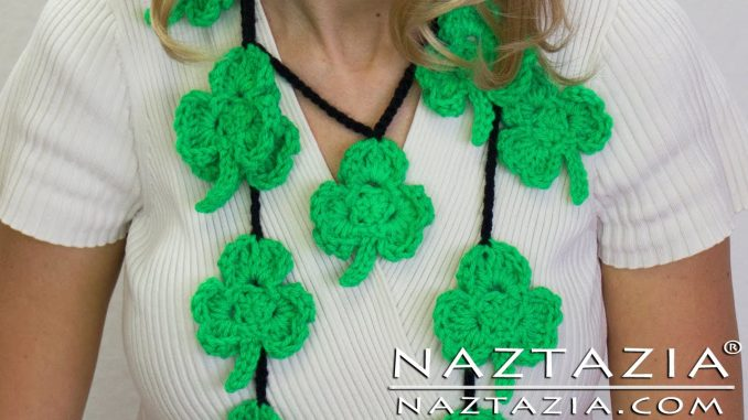Crochet Shamrock Clover for St Patricks Day
