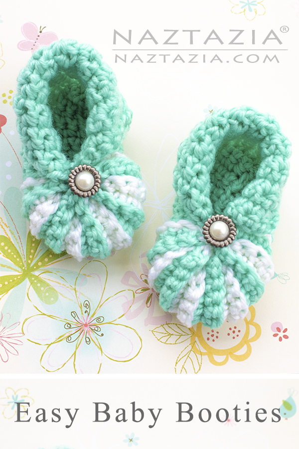 Crochet Simple Baby Booties and Cute Shoes for Babies