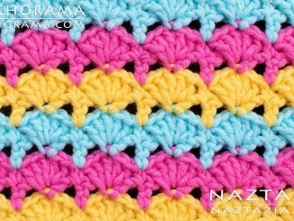 Crochet Simple Shell Stitch from Stitchorama Collection