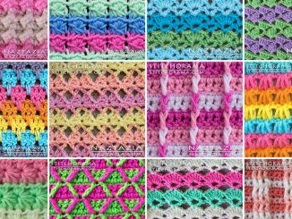 Review of Stitchorama Stitch Pattern Collection by Naztazia