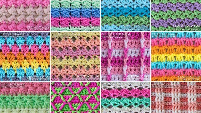 Review of Stitchorama Stitch Pattern Collection by Naztazia