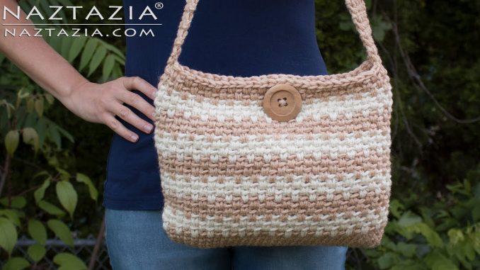 Crochet Sweet Simple Handbag