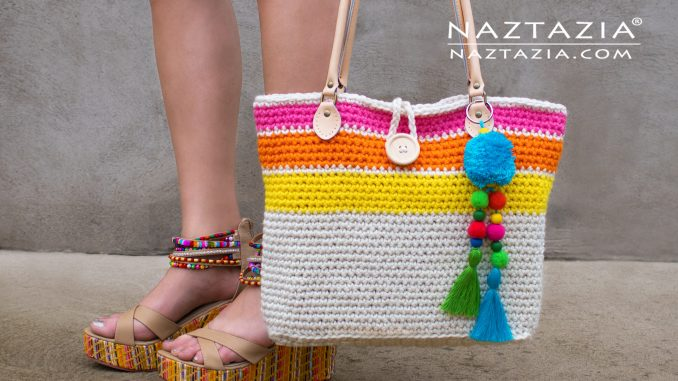 How To Crochet A Sweet Simple Tote Bag Naztazia