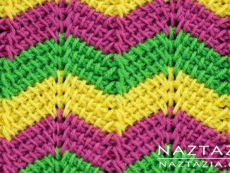 Crochet Tunisian Ripple Stitch from Stitchorama Collection
