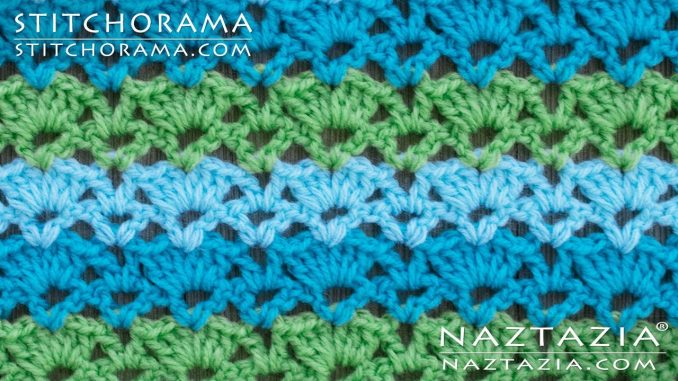 Crochet Varied Shell Stitch from Stitchorama Collection